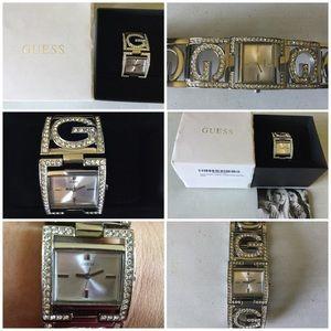 NWOT Guess Women's Silver-tone Watch